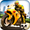 VR carretera Speed ​​Moto Ride