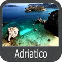 Mar Adriático gps cartografía