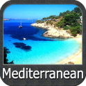 Mediterranean Sea GPS Nautical and Fishing Charts