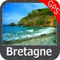 Bretagne GPS Map Navigator
