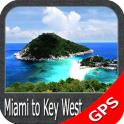 Miami to Key West GPS Charts
