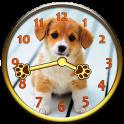 Sweet Puppy Analog Clock