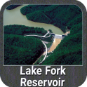 Lake Fork Texas GPS Fishing Chart