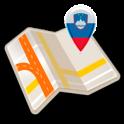 Karte von Slowenien offline