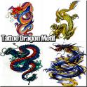 Tatuajes Dragon Motif