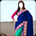 Hot Women Saree Photo Suit
