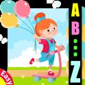 Learn ABC alphabet easy game