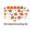 Valentines Art -Emoji Keyboard