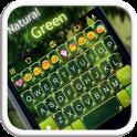 Natural Green Emoji Keyboard