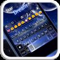 Star Dream Emoji Keyboard Skin