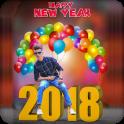Happy New Year Photo Frame 2018