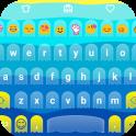 Blue Ocean Emoji Keyboard Skin