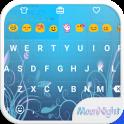 Moon Night Love Emoji Keyboard