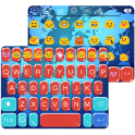 World Map Emoji Keyboard Theme