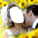 Couple Wedding Photo Montage