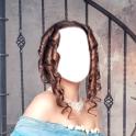 princesa montagem da foto