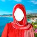 Hijab Woman Photo Montage