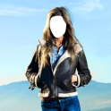 montage mulheres jaqueta foto