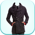 Men Trench Coat Suit Photo Editor