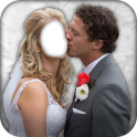 Wedding Couple Photo Montage