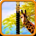 Giraffe Zipper Lock Screen