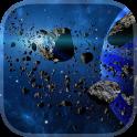 Asteroiden Live Hintergrund