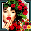 Rose Photo Collage Editor