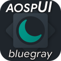 aospUI BlueGray,Substratum/Synergy Dark theme