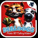 Dialoogs - 3D-Videos sprechen