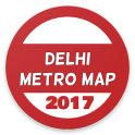 Delhi metro map new 2017