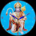 Hanuman Clock Live Wallpaper