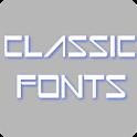 Classic Fonts for FlipFont