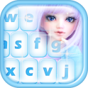 Cute Dolls Emoji Keyboard