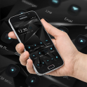 Black Technology Cool Theme, 3D neon HD wallpaper