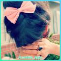 Haarschleife Idee für Mädchen