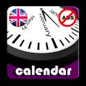 2020 UK Labor Calendar with Holidays AdFree+Widget