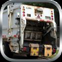 Müllhalde LKW-Fahrer