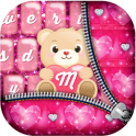 Los temas rosas para teclado