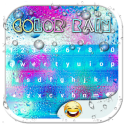 Color Rain Emoji Keyboards