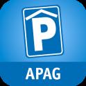 Parken bei der APAG