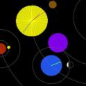 무료 천체 시계 LWP