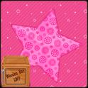 rosa Liebe funkeln Sterne LWP