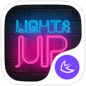 Shine Neon Lights Theme & HD Wallpapers