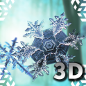 Falling Snowflakes 3D Live Wallpaper Pro