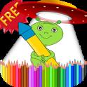 Coloring Book Aliens