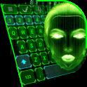 Hacker Green Keys Keyboard