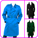 Man Trench Coat Photo Montage
