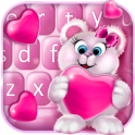 Sweet Pink Valentine Keyboard