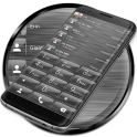 Dialer theme Brushed Glass