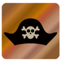 Pirateia etiquetas da foto
